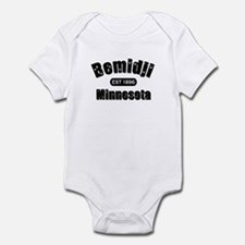 Bemidji Established 1896 Infant Bodysuit