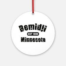 Bemidji Established 1896 Ornament (Round)