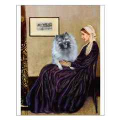 Mom's Keeshond (F) Posters