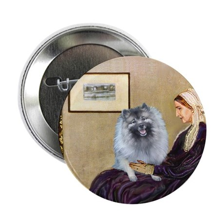 "Mom's Keeshond (F) 2.25"" Button"