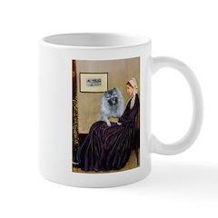 Mom's Keeshond (F) Mug