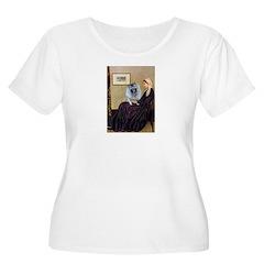 Mom's Keeshond (F) T-Shirt