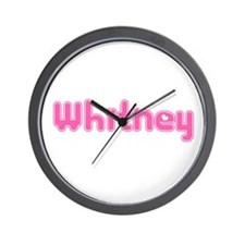 """Whitney"" Wall Clock"