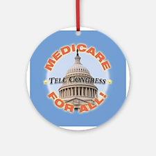 Tell Congress Ornament (Round)