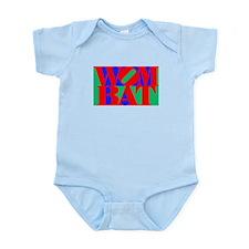 Wombat Text Pop Art Infant Bodysuit