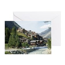 Zermatt Switzerland Greeting Card