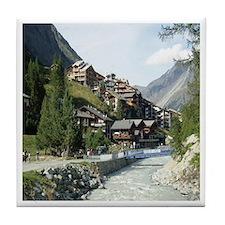 Zermatt Switzerland Tile Coaster