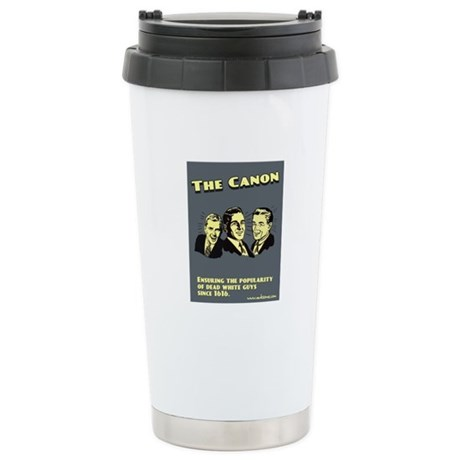 """The Canon"" Stainless Steel Travel Mug"