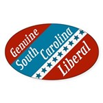 Genuine South Carolina Liberal bumper sticker