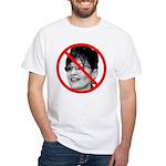 Anti Sarah Palin (Front) White T-Shirt