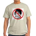 Anti Sarah Palin (Front) Light T-Shirt