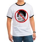 Anti Sarah Palin (Front) Ringer T