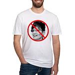 Anti Sarah Palin Fitted T-Shirt
