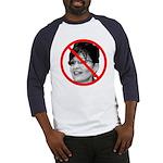 Anti Sarah Palin (Front) Baseball Jersey