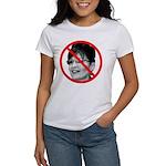 Anti Sarah Palin (Front) Women's T-Shirt