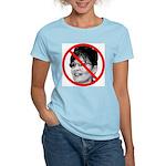 Anti Sarah Palin (Front) Women's Light T-Shirt