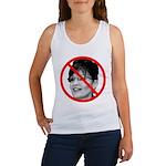 Anti Sarah Palin Women's Tank Top