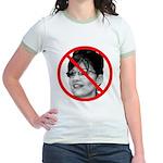 Anti Sarah Palin Jr. Ringer T-Shirt