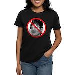 Anti Sarah Palin (Front) Women's Dark T-Shirt