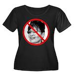 Anti Sarah Palin (Front) Women's Plus Size Scoop N