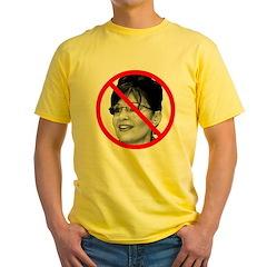 Anti Sarah Palin (Front) T
