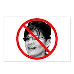 Anti Sarah Palin Postcards (Package of 8)