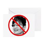 Anti Sarah Palin Greeting Cards (Pk of 20)