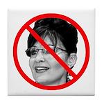 Anti Sarah Palin Tile Coaster