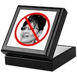 Anti Sarah Palin Keepsake Box
