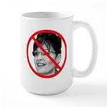 Anti Sarah Palin Large Mug