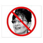Anti Sarah Palin Small Poster
