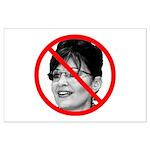 Anti Sarah Palin Large Poster