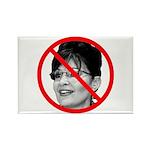 Anti Sarah Palin Rectangle Magnet