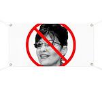 Anti Sarah Palin Banner