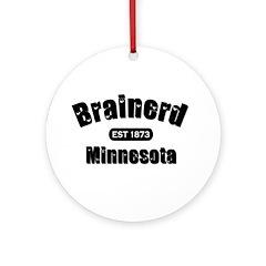 Brainerd Established 1873 Ornament (Round)