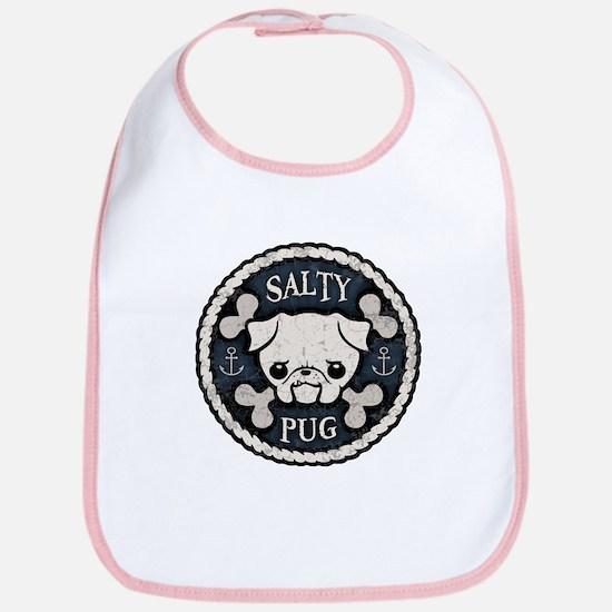 Salty Pug Bib
