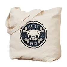 Salty Pug Tote Bag