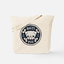 Salty Pug Tote Bag