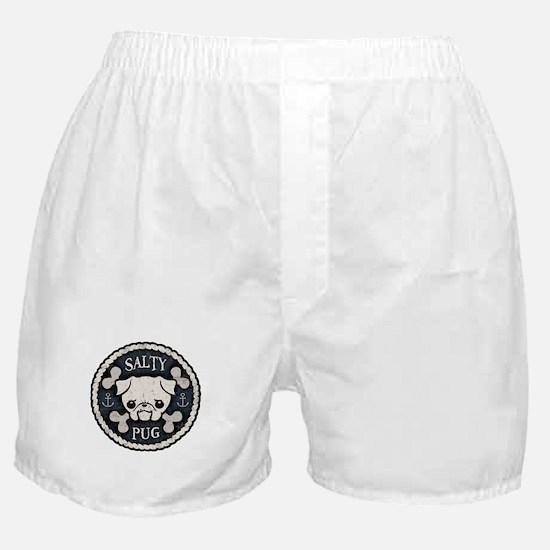 Salty Pug Boxer Shorts