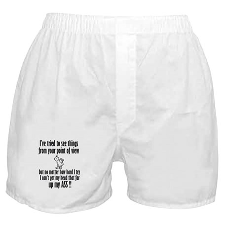 I've tried to see things from Boxer Shorts