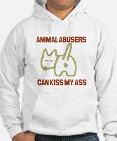 Funny Cancer can kiss my ass Hoodie
