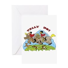 Tally Ho! Greeting Card