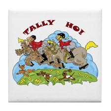 Tally Ho! Tile Coaster