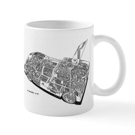 Chapperal J Ghost Rendering Mug