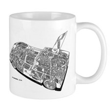 Chapperal J Ghost Rendering Mug