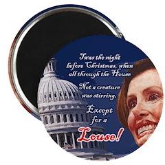 "Nancy Pelosi Holiday 2.25"" Magnet (10 pack)"