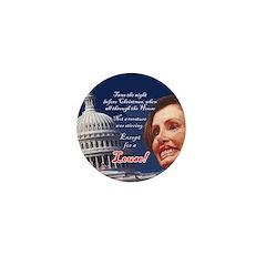 Nancy Pelosi Holiday Mini Button