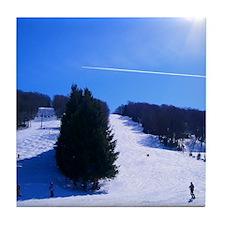 Ski Resort Tile Coaster
