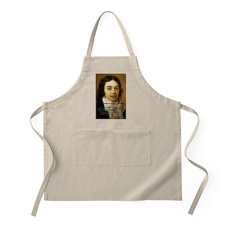Samuel Taylor Coleridge Poet BBQ Apron