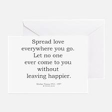 Mother Teresa 7 Greeting Cards (Pk of 20)